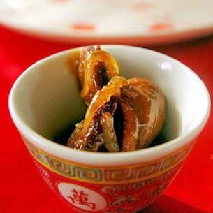 wok de magret de canard aux oignons et au miel