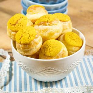 petits choux au citron