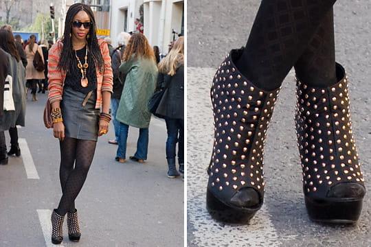 Fashion week : les street looks des défilés parisiens PAP automne-hiver 2011-2012 57