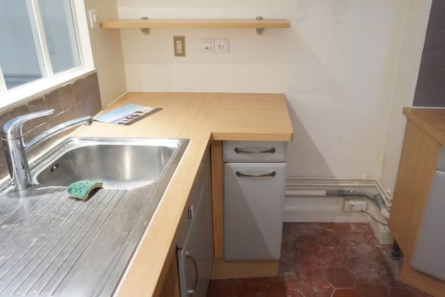 Avant: une cuisine un peu vieillotte