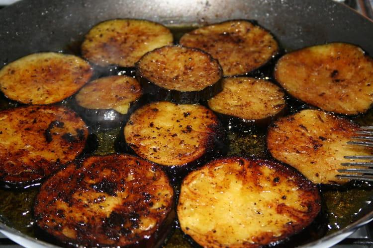 Recette aubergines grill es la recette facile - Cuisiner des carottes a la poele ...