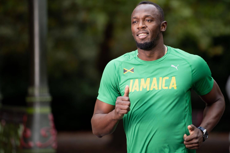 """Usain Bolt, papa sprinter de jumeaux: PHOTOS de famille et prénoms """"foudroyants"""""""