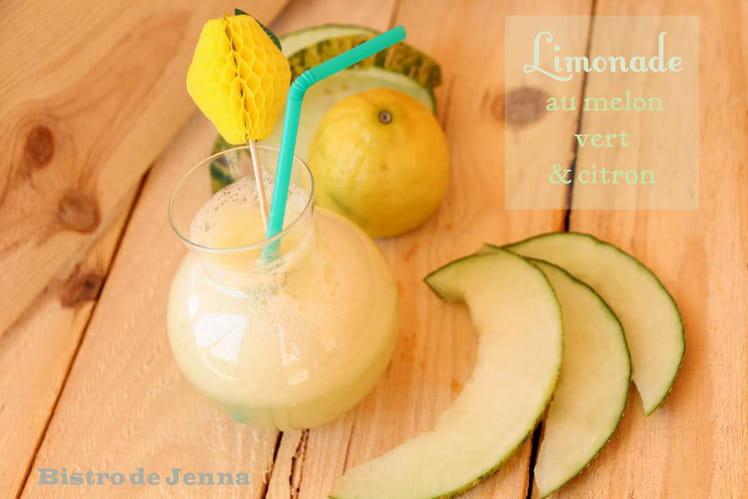 Limonade au melon vert et au citron