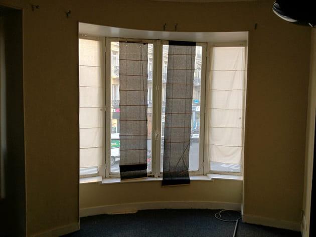 Avant : fenêtres maussades