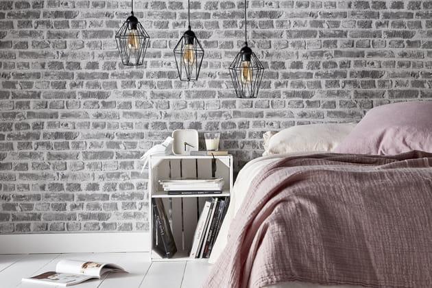 un mur trompe l 39 oeil. Black Bedroom Furniture Sets. Home Design Ideas