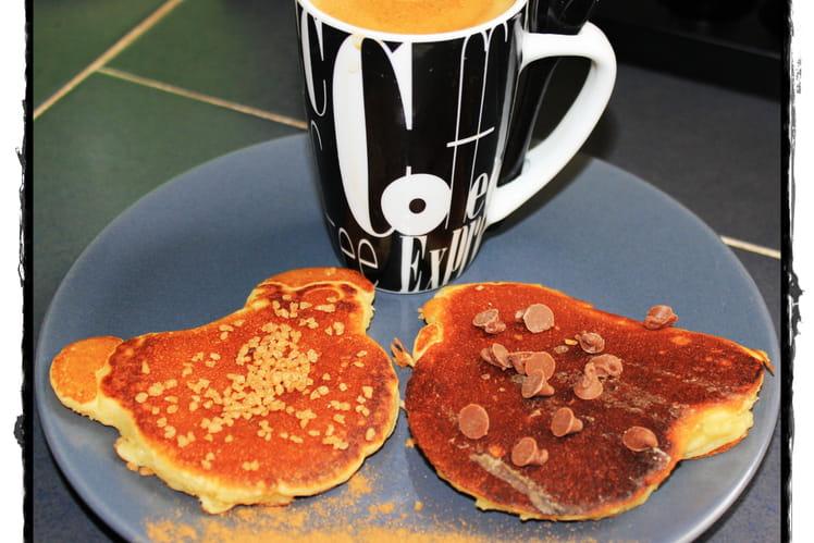 Pancakes selon mickey