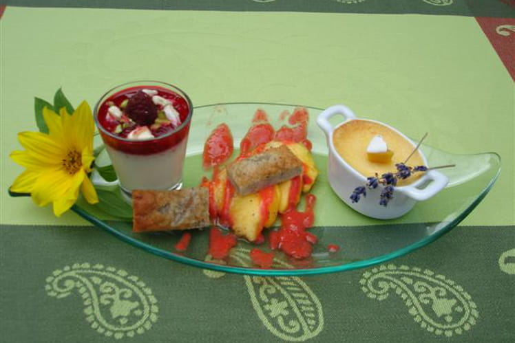 Déclinaison autour des gourmandises de Provence