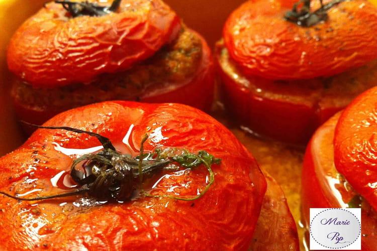 Tomates farcies gourmandes