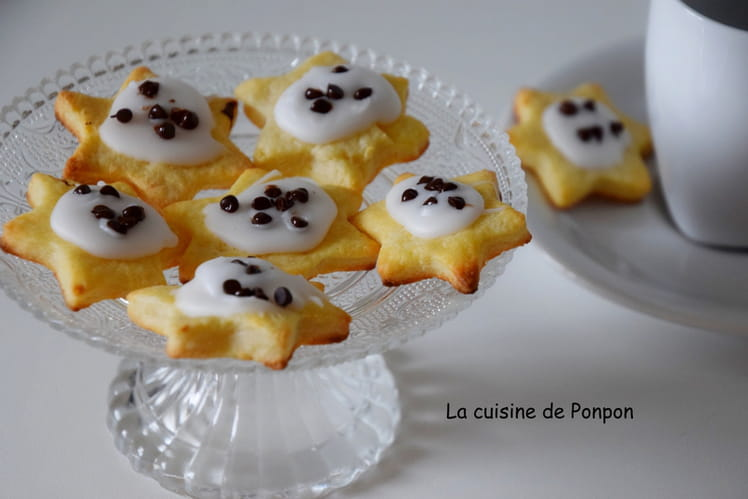 Biscuits au fromage blanc et fondant