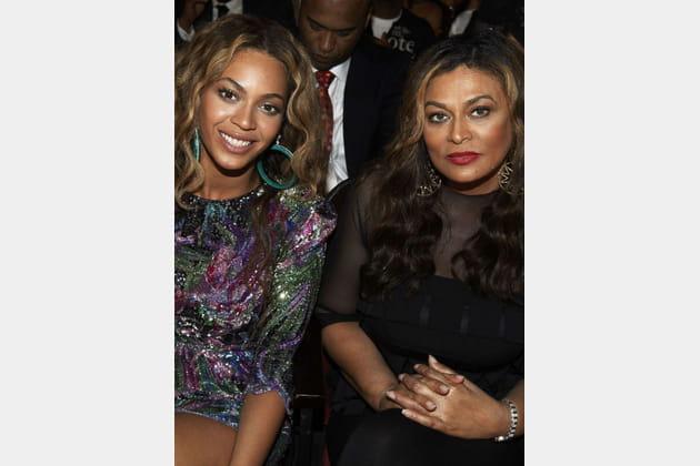 Beyonce et sa mère Tina Knowles
