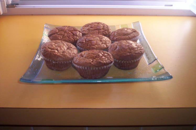 Brownies aux 2 chocolat