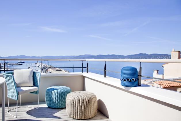 En terrasse sur la Méditerranée