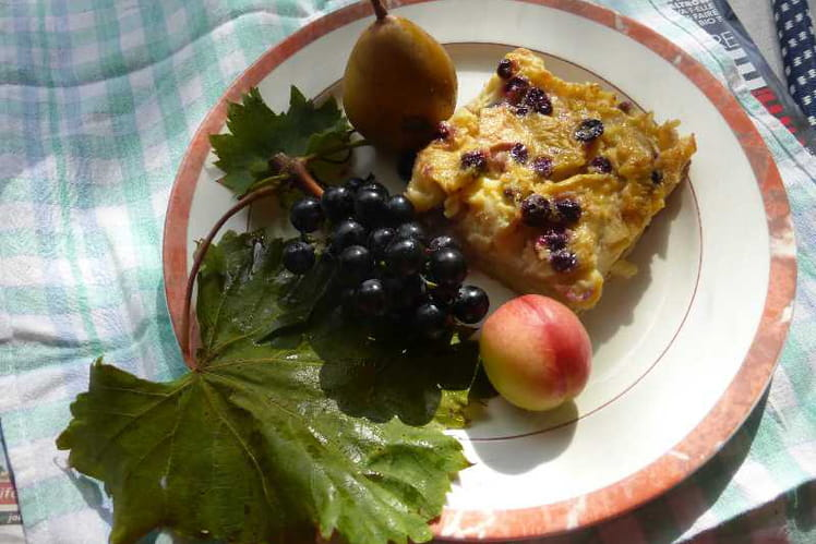 Clafoutis aux fruits de septembre