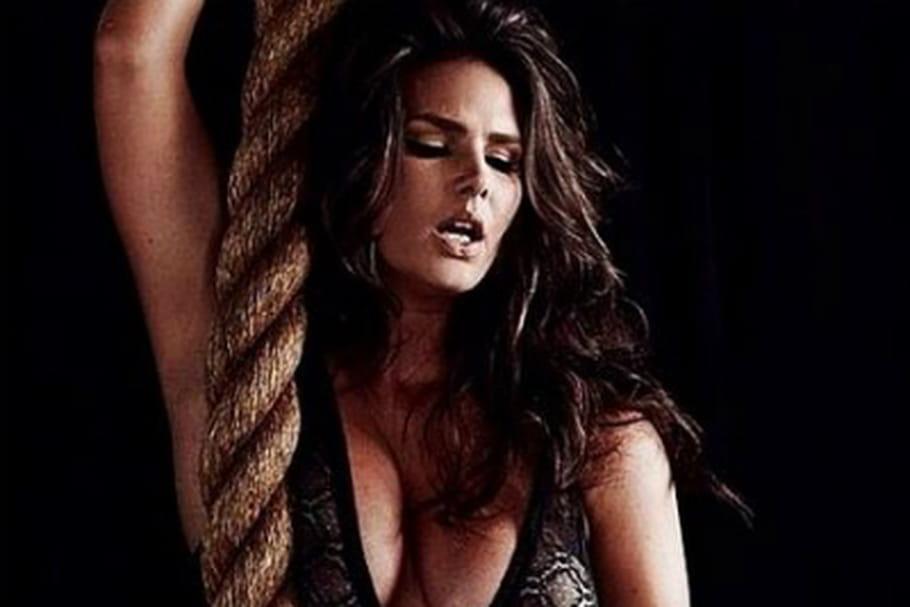 Candice Huffine, mannequin grande taille dans le calendrier Pirelli
