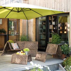 salon de jardin sasha de botanic. Black Bedroom Furniture Sets. Home Design Ideas