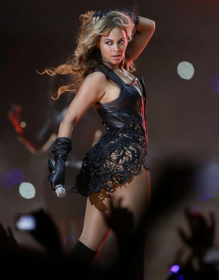 Beyoncé, star du Super Bowl