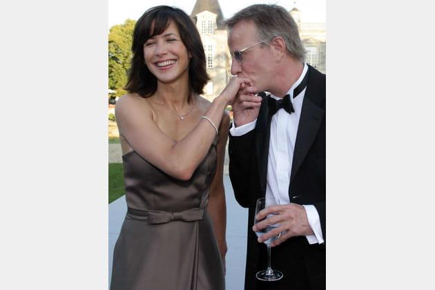 Sophie Marceau et Christophe Lambert fête fleur