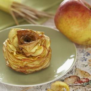 chips de pommes en l'air aux épices
