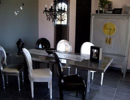 Une salle à manger baroque