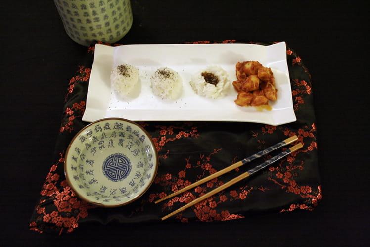 Encornets au riz