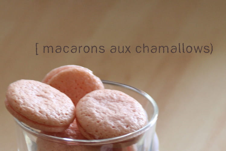 Macarons aux chamallows