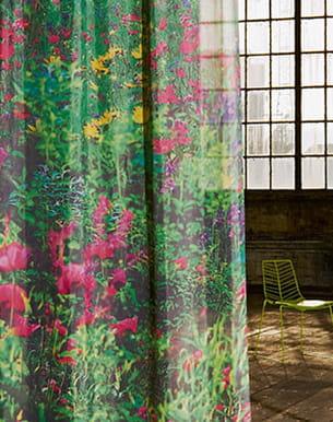 tissu 'garden' de création baumann