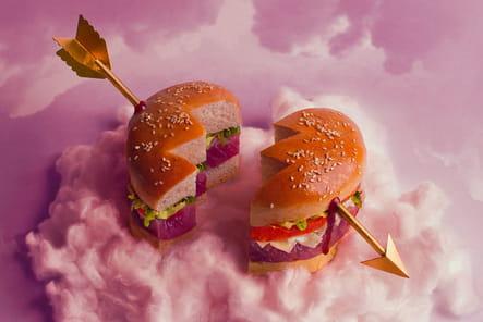Touché en plein burger