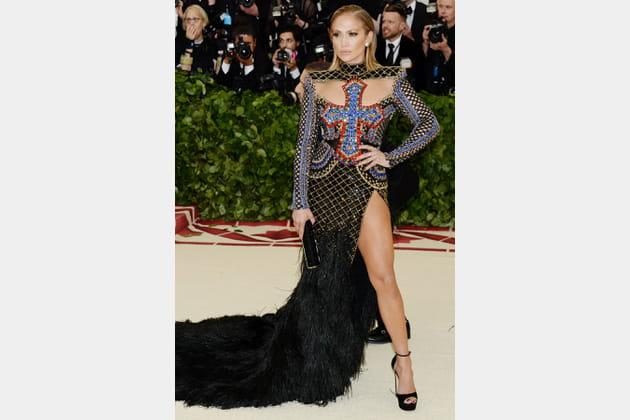 Jennifer Lopez en Balmain