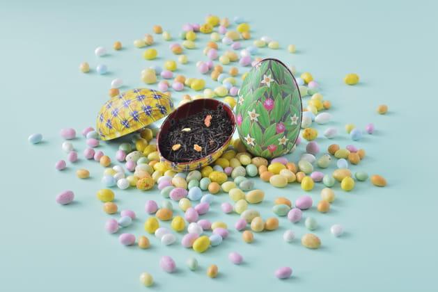 """Thé dans boîte """"Fabergé Eggs"""" de George Cannon"""