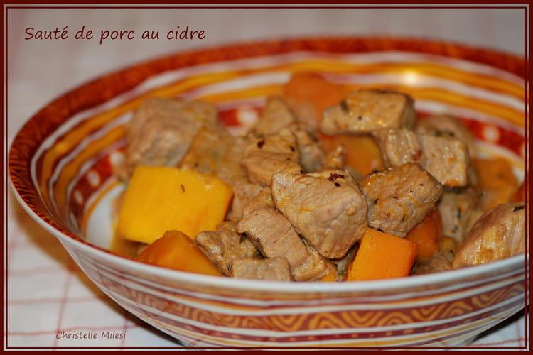 Recette de saut de porc au cidre la recette facile - Cuisiner un saute de porc ...