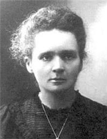 marie curie fut la première femme à recevoir le prix nobel.