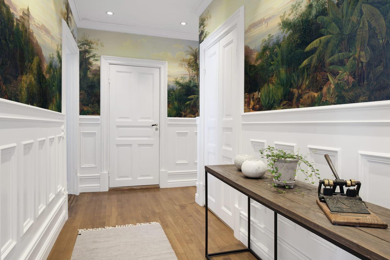 papier peint gloria par au fil des couleurs. Black Bedroom Furniture Sets. Home Design Ideas