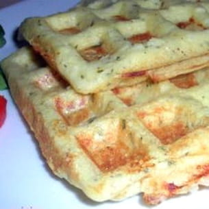 gaufres de pommes de terre