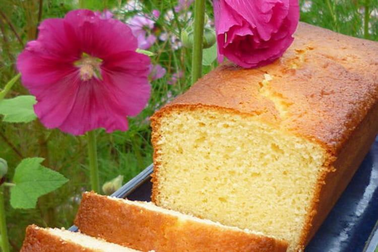 Cake saveur citron