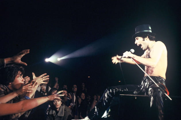 En concert à Paris, en 1979