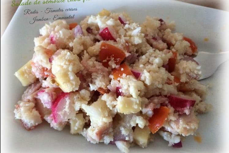 Salade de semoule de chou-fleur