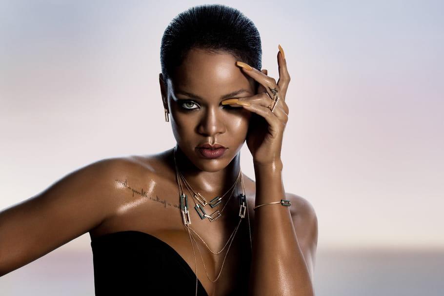 Rihanna et Chopard, unis par les liens de la joaillerie