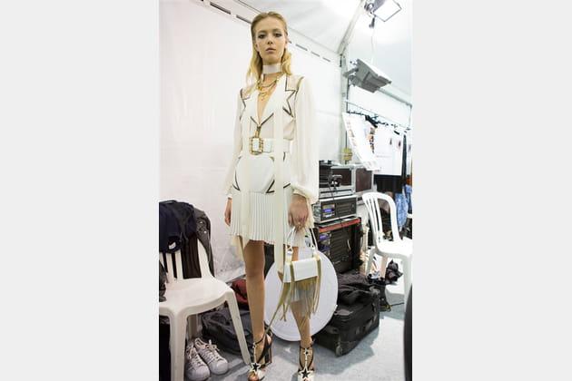 Elie Saab (Backstage) - Printemps-été 2017
