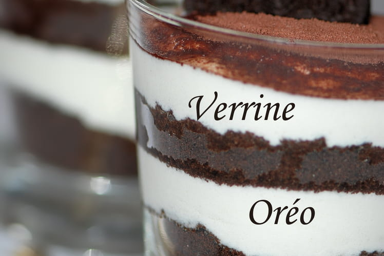 Verrine Oréo