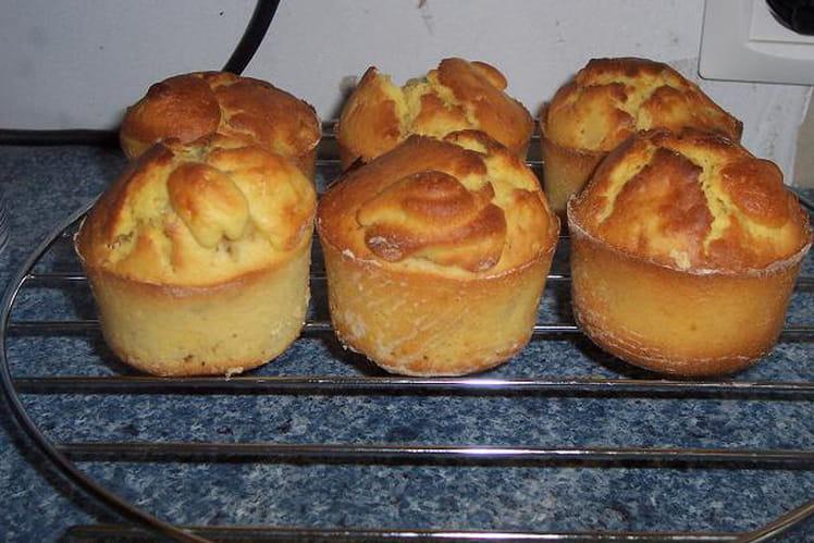 Muffins pomme banane