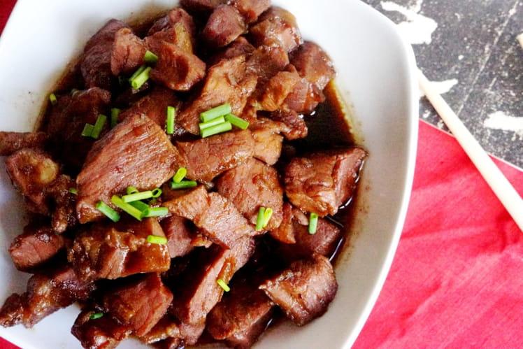 Porc au caramel chinois à ma façon
