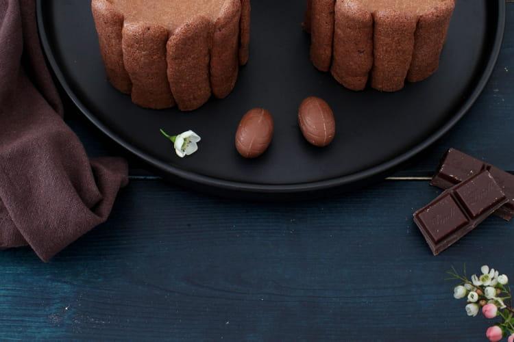 Charlottes chocolat et noix de coco