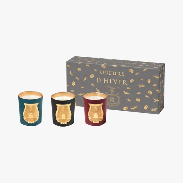 Coffret de bougies Odeurs d'Hiver par CireTrudon