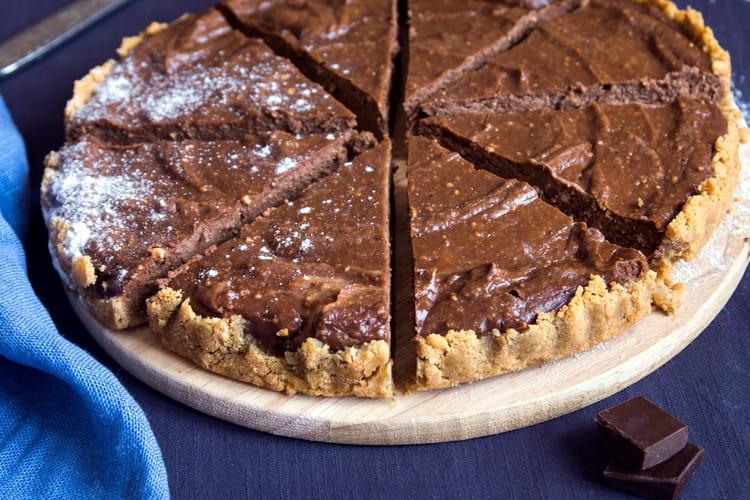 Tarte au chocolat facile la meilleure recette - Tarte aux chocolat facile ...
