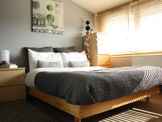 Une chambre parentale optimis e for Chambre parentale bleue