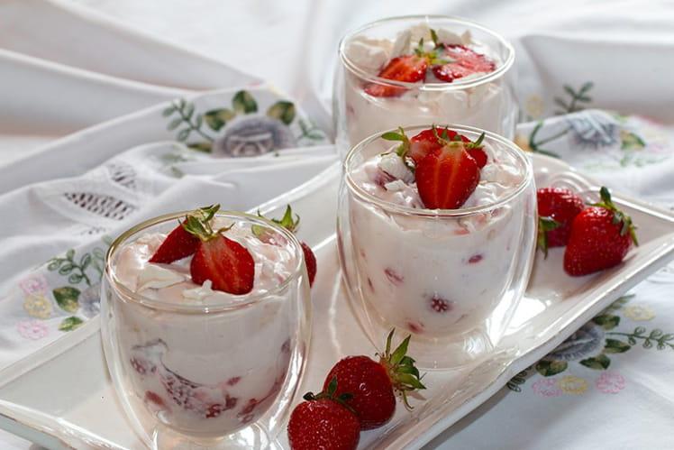 Eton Mess aux fraises