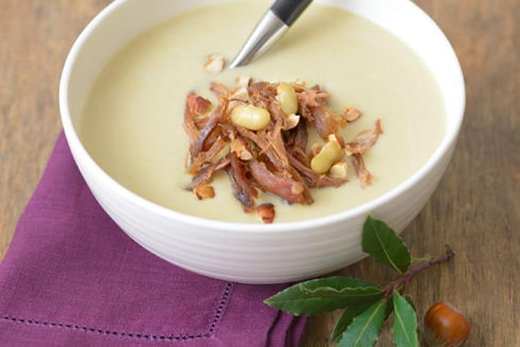 Recette de velout de flageolets la recette facile - Cuisiner des flageolets ...