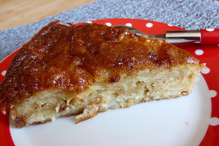 Gâteau aux pommes maison