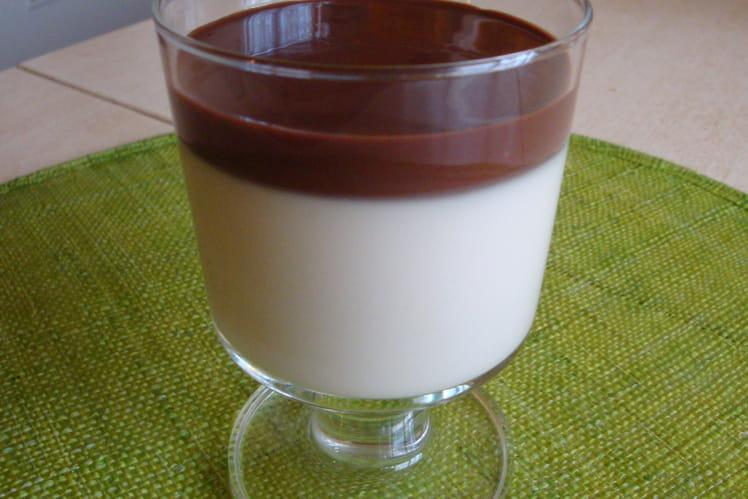 Panna Cotta au Bailey's et son Coulis de Chocolat