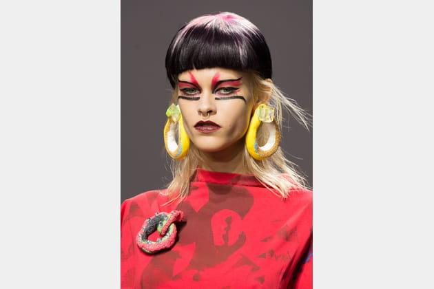 Les bijoux en pâte à sel du défilé Fashion East